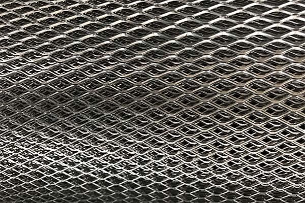 توری پرسی مشبک فلزی